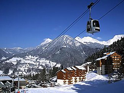 Residence from the pistes