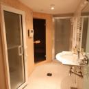 Sauna, hamman and separate shower