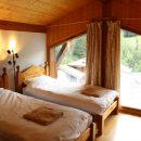Top floor twin bedroom with ensuite