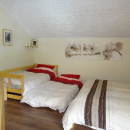 Master bedroom with 2 singles
