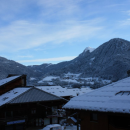 View from Apartment across the village
