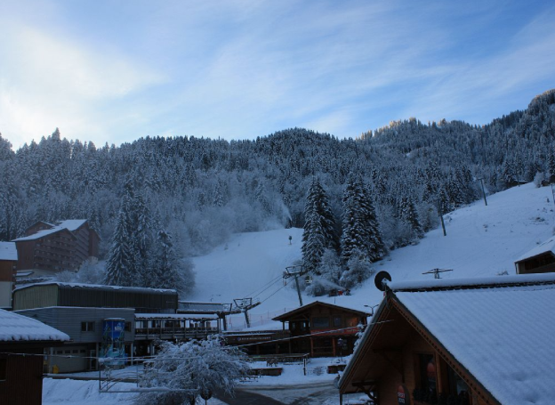 View from Balcony of Slopes
